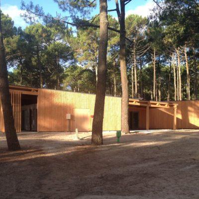 bloc sanitaire bois